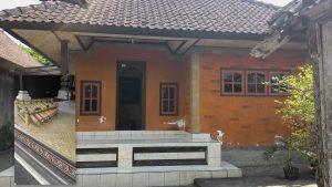 Salah satu bentuk bangunan rumah tinggal di Desa Penglipuran